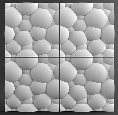 3д Панели — Пузыри