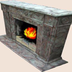 Декоративный камин - Княжеский