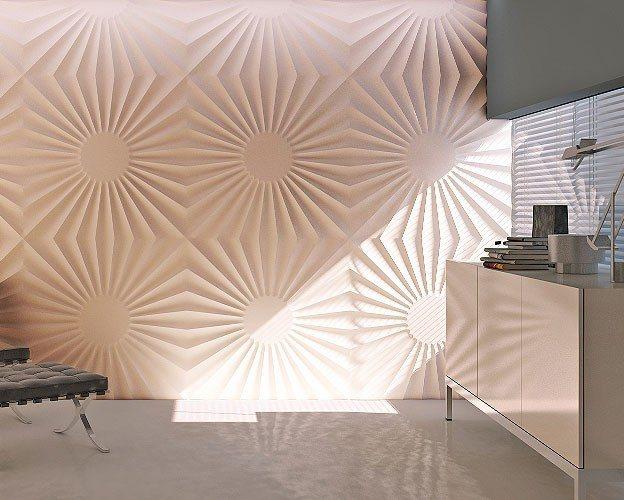 Виды декоративный 3D Панелей