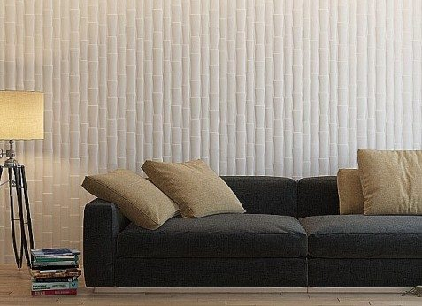 3d панели — бамбук