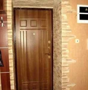 облицовка входной двери