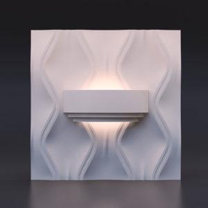 Гипсовый светильник - Wal