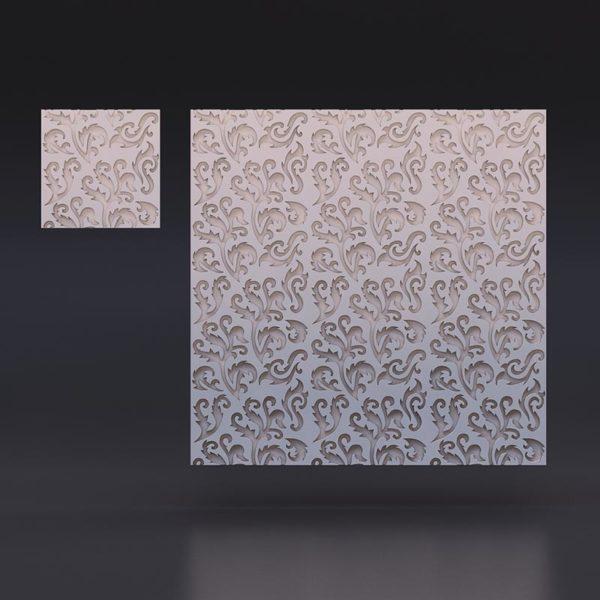 3D Панель - Многоцвет