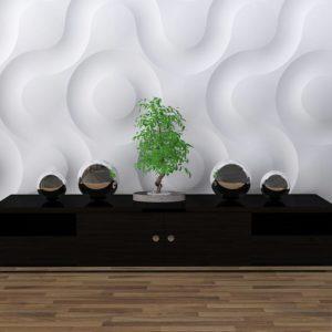 Гипсовое 3D Панно