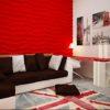 Гипсовые 3D Панели в интерьере фото