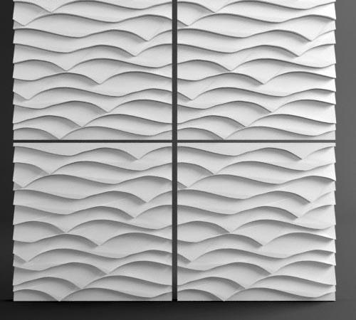 панели 3d декоративные