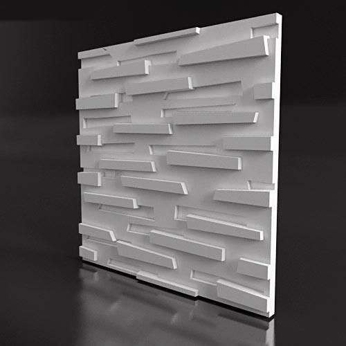3Д панели из гипса