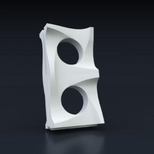 3D Перегородка № 17