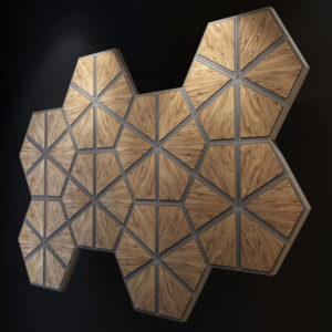 Деревянные обои и 3D панели из дерева – экологически-чистая красота помещения