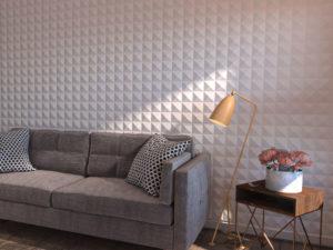 Декоративная отделка потолка 3Д панелями
